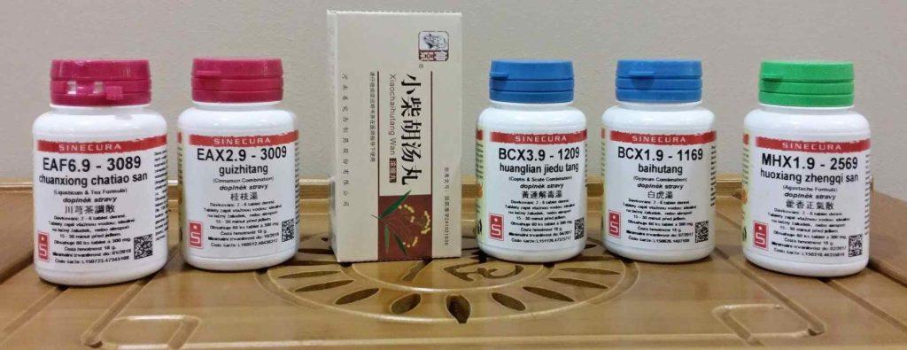 čínská medicína - produkty pragon