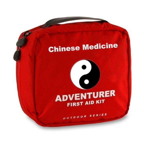 Čínská medicína v cestovní lékárničce   Traveller's 1st aid kit by Chinese medicine
