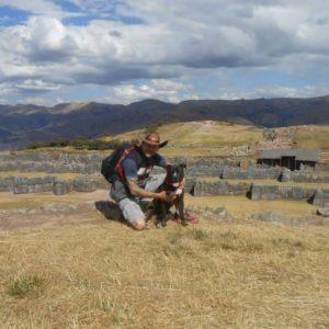 Vysoko v horách u památek Inků